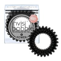 invisibobble Power gumičky do vlasů 3 ks True Black 3 ks