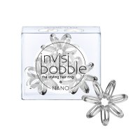 Invisibobble Nano POWER True Black gumička do vlasů 3 ks