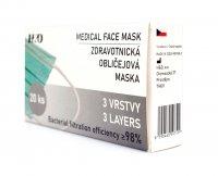 Zdravotnická obličejová maska BFE 98% rouška 20 ks