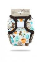 Petit Lulu Novorozenecké svrchní kalhotky 1 ks houbičky