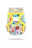 Petit Lulu Novorozenecké svrchní kalhotky 1 ks rozkvetlá zahrada