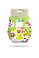 Petit Lulu Novorozenecké svrchní kalhotky 1 ks veselé sovičky