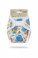 Petit Lulu Novorozenecké svrchní kalhotky 1 ks hroši v triku