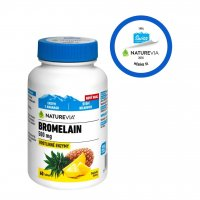 Swiss NatureVia Bromelain 500 mg 60 tablet