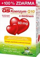 GS Koenzym Q10 60 mg 30+30 kapslí