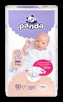 Panda Mini vel. 2 3-6 kg dětské pleny 50 ks