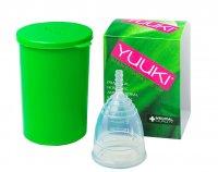YUUKI Menstruační kalíšek Soft Large set 1 ks + dezinfekční krabička