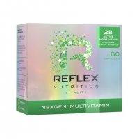 Reflex Nutrition Nexgen multivitamín 60 kapslí