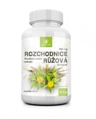 Allnature Rozchodnice růžová 500 mg 60 kapslí