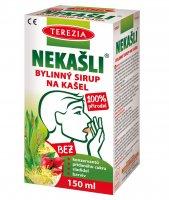 Terezia NEKAŠLI 100% přírodní bylinný sirup 150 ml
