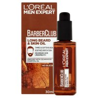 Loréal Paris Barber Club Výživný olej na dlouhé vousy a pleť 30 ml