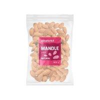 Allnature Mandle natural jádra 500 g