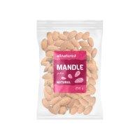 Allnature Mandle natural jádra 250 g