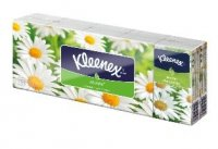 Kleenex Family hanks Camomile 10x10 ks
