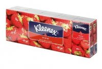 Kleenex Family hanks Strawberry 10x10 ks