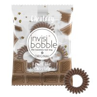 Invisibobble ORIGINAL Cheat Day Crazy for Chocolate gumička do vlasů 3 ks
