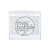 Invisibobble BASIC gumička do vlasů Crystal Clear - průhledná 10 ks