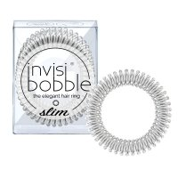 invisibobble Slim gumičky do vlasů 3 ks Chrome Sweet Chrome 3 ks