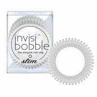 invisibobble Slim gumičky do vlasů 3 ks Crystal Clear 3 ks