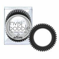 invisibobble Slim gumičky do vlasů 3 ks True Black 3 ks
