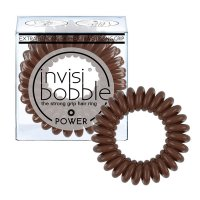 Invisibobble POWER Pretzel Brown gumička hnědá 3ks
