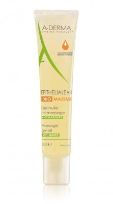A-derma Epiteliale A.H. DUO Massage masážní gel 40 ml