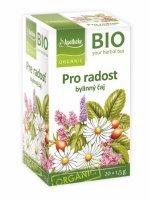 Apotheke BIO Pro radost bylinný čaj 20x1,5 g