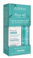 A-Derma Phys-AC Global 40 ml + Čisticí gel 100 ml + vzorek gel 25 ml