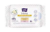 Bella Intima intimní vlhčené ubrousky 20 ks