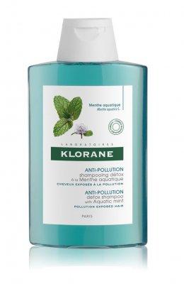 KLORANE Detoxikační šampon s mátou vodní pro vlasy vystavené znečištěnému ovzduší 200 ml
