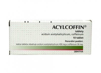 ACYLCOFFIN 10 tablet