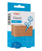 Dr.Max Classic Cotton 6cm x 1m náplast 1 ks