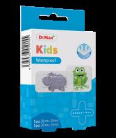 Dr.Max Kids Washproof 2 velikosti náplast 10 ks