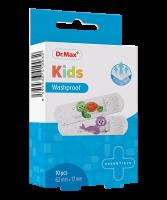 Dr.Max Kids Washproof 62mm x 17mm náplast 10 ks
