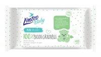 Linteo Baby Biodegradable vlhčené ubrousky 48 ks
