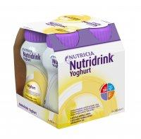 Nutridrink Yoghurt s příchutí vanilka a citrón 4x200 ml