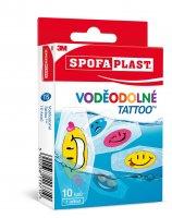 3M Spofaplast Voděodolné Tattoo dětské náplasti 10 ks