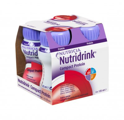 Nutridrink Compact Protein lesní ovoce 4x125 ml