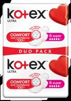 Kotex Ultra Super Duo pack 12 ks