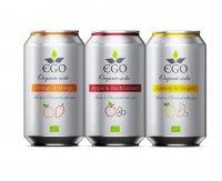 EGO BioLimonáda mix příchutí plechovka 3x330 ml