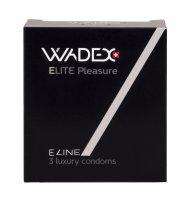 WADEX Elite Pleasure kondomy 3 ks