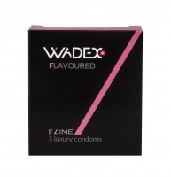 WADEX Flavoured kondomy 3 ks