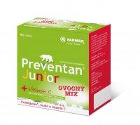 Preventan Junior ovocný mix 90 tablet