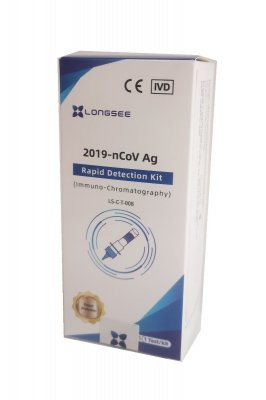 LONGSEE Covid-19 test ze slin 1 ks