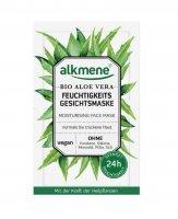 ALKMENE BIO Hydratační pleťová maska Aloe Vera 2x6 ml