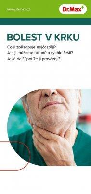 Dr.Max Leták pro pacienty BOLEST V KRKU