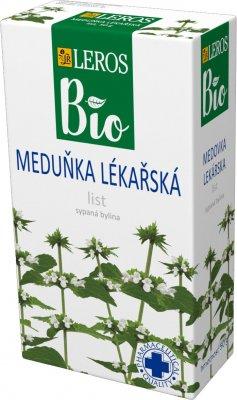 Leros BIO Meduňka lékařská list sypaný čaj 50 g