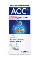 ACC 20 mg/ml sirup 200 ml