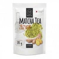 NATU Matcha tea BIO Premium Japan Zázvor 70 g
