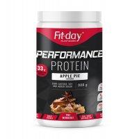 Fit-day Protein Performance jablečný koláč 900 g